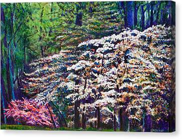 Canvas Print - Floral Cathedral by Michael Durst
