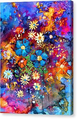 Floral Dance Fantasy Canvas Print by Svetlana Novikova