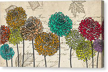 Floral Delight V Canvas Print by Lourry Legarde