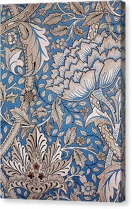 Floral Design Canvas Print by William Morris
