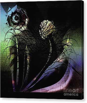 Floral Fever Canvas Print by Iris Gelbart