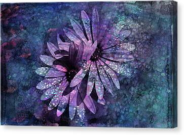 Enigma Canvas Print - Floral Fiesta - S14c by Variance Collections