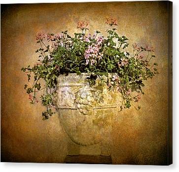 Ceramic Canvas Print - Floral Fresco by Jessica Jenney