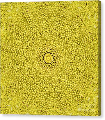 Floral Jackfruit Scale Like Pattern Canvas Print by Image World