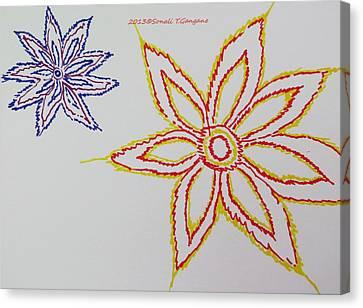 Floral Joy  Canvas Print by Sonali Gangane
