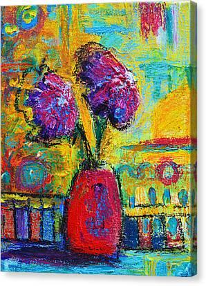 Floral No. 12 Canvas Print by Patricia Awapara