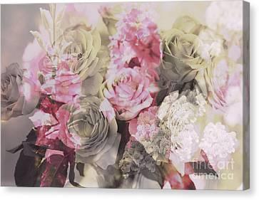 Floral Pattern Canvas Print by Amanda Barcon