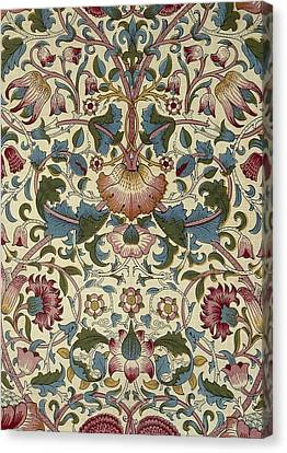 Floral Pattern Canvas Print by William Morris