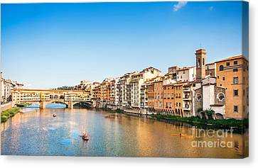 Florence At Sunset Canvas Print by JR Photography