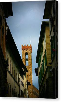 Canvas Print featuring the photograph Florence  by Henry Kowalski