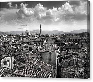 Florence Italy - 01 Canvas Print by Gregory Dyer