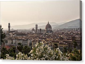 Florence Italy Canvas Print by Melany Sarafis
