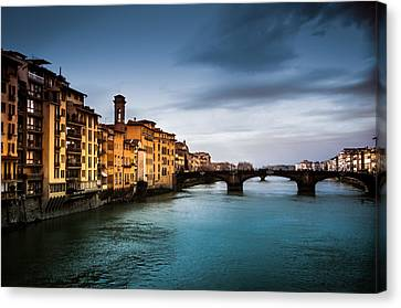 Florence Italy Canvas Print by Mickey Clausen