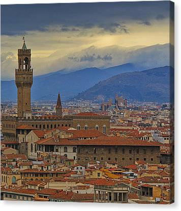 Florence Overlook Canvas Print