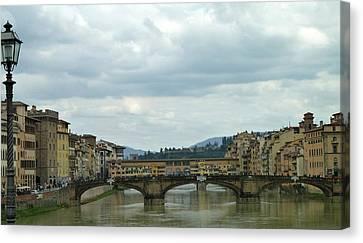 Ponte Vocchio Canvas Print - Florence. Ponte Vecchio by Anna and Sergey