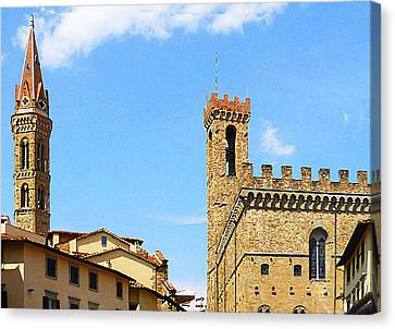 Florence Towers Canvas Print