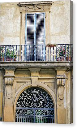 Florentine Apartment Canvas Print