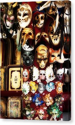 Florentine Masks Canvas Print