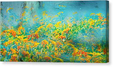 Flores De Ayamonte Canvas Print