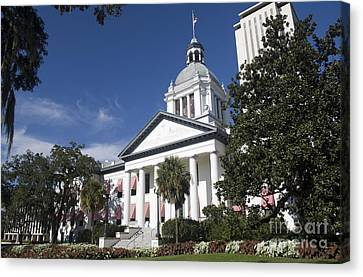 Florida Capital Building Canvas Print