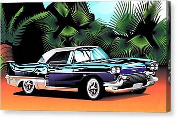 Florida Car Canvas Print