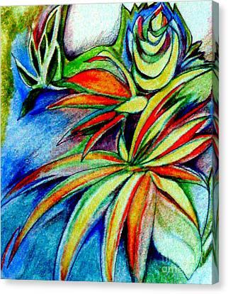 Florida Flower 1 Canvas Print by Joy Calonico