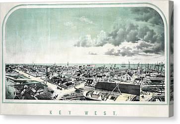 Florida Key West Canvas Print by Granger