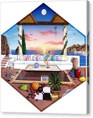 Seem Canvas Print - Florida by Snake Jagger