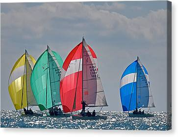 Florida Spinnakers Canvas Print