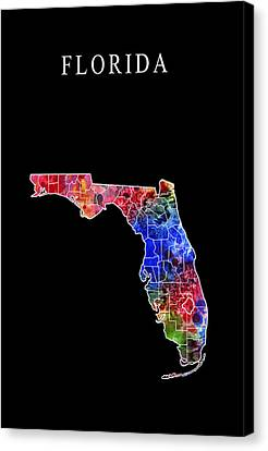 Florida State Canvas Print by Daniel Hagerman