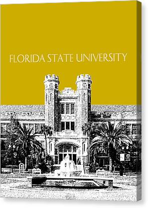 Florida State University - Gold Canvas Print by DB Artist