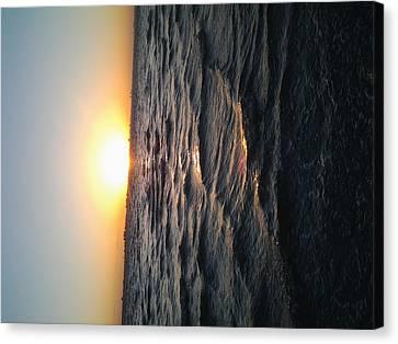 Florida Sunrise Canvas Print by Chasity Johnson