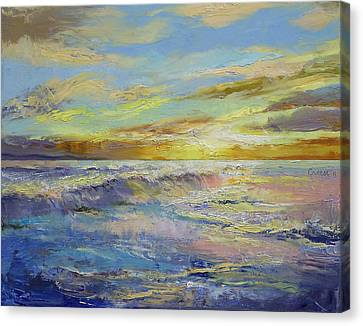 Michael Canvas Print - Florida Sunrise by Michael Creese