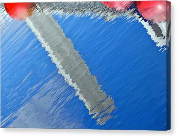 Floridian Abstract Canvas Print by Keith Armstrong