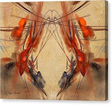 Flourishes Canvas Print by Sylvia Thornton