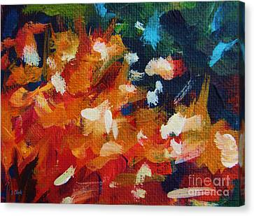 Flow Canvas Print by John Clark