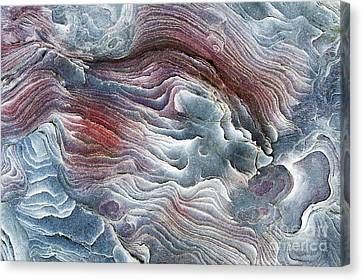 Flow Of Erosion Canvas Print by Tim Gainey