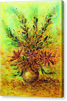 Flower Bouquet Canvas Print by Martin Capek