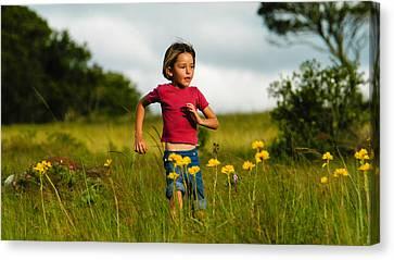 Flower Child Canvas Print by Alistair Lyne