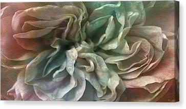 Flower Dance - Abstract Art Canvas Print