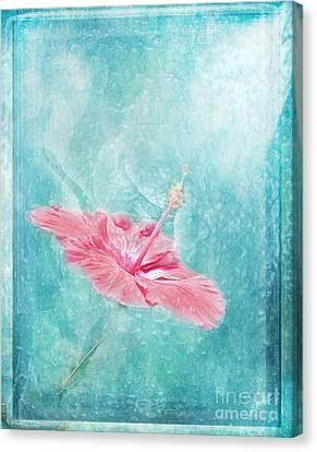 Flower Dancer Canvas Print by Erika Weber