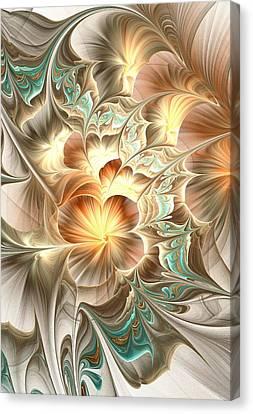 Flower Daze Canvas Print