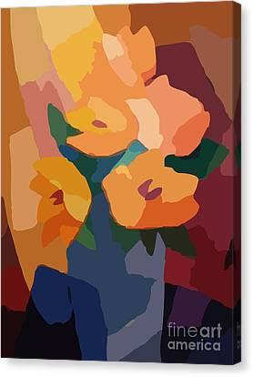 Flower Deco I Canvas Print by Lutz Baar
