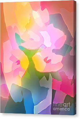 Flower Deco IIi Canvas Print by Lutz Baar