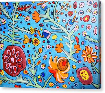 Flower Dream Canvas Print by Artists With Autism Inc