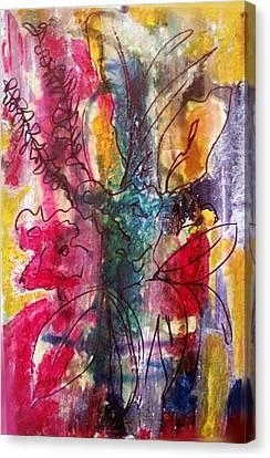 Flower Essence Canvas Print