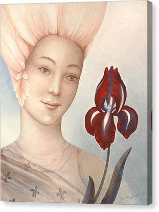 Flower Fairy Canvas Print by Judith Grzimek
