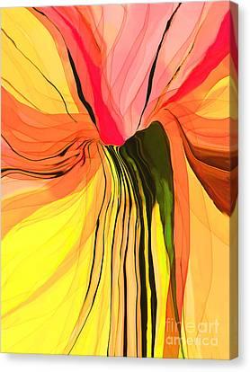 Flower Fantasy Canvas Print by Hilda Lechuga