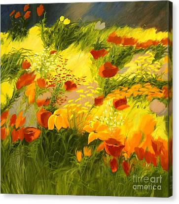Flower Fantasy Canvas Print by Madeleine Holzberg