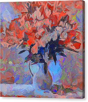 Flower Flow Canvas Print by Yury Malkov